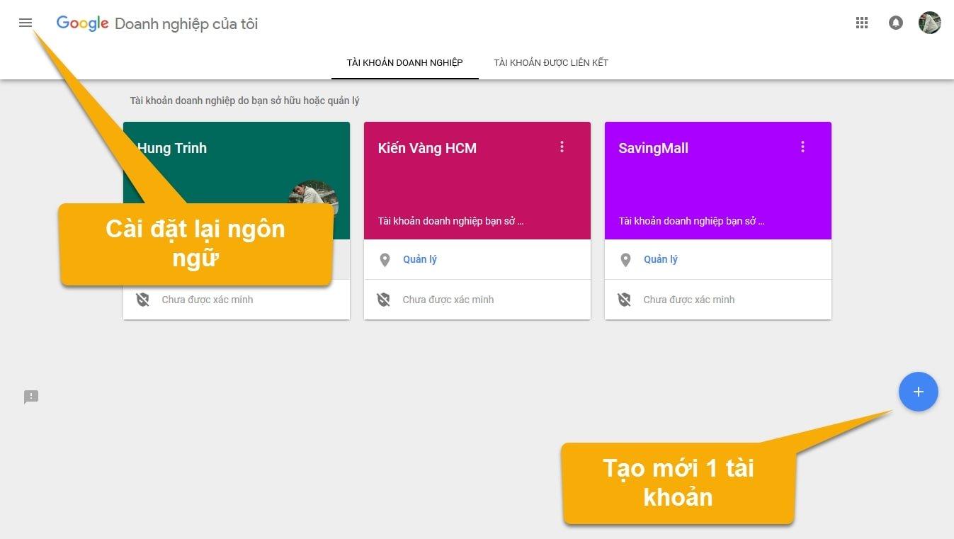 Hướng dẫn đăng ký Google Business và đưa website lên Google Maps
