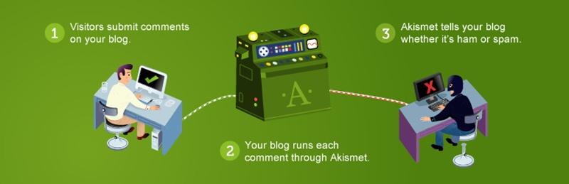 Plugin Akismet Anti-spam Plugin wordpress