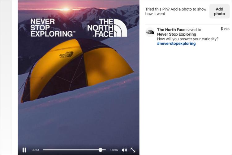 Làm thế nào để tạo chân video thành công trên pinterest