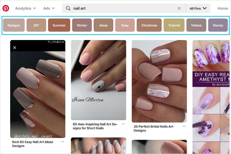 Cách tìm từ khóa SEO mạnh cho Pinterest