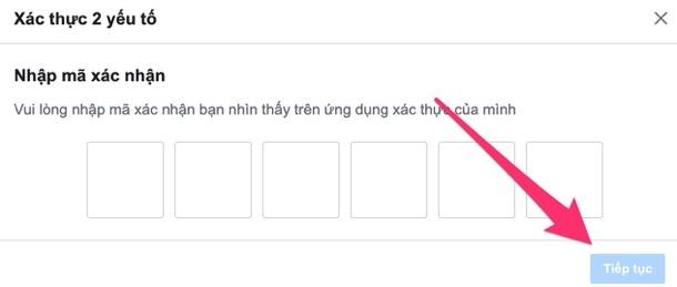Cách cài đặt xác thực hai yếu tố trên Facebook không cần số điện thoại